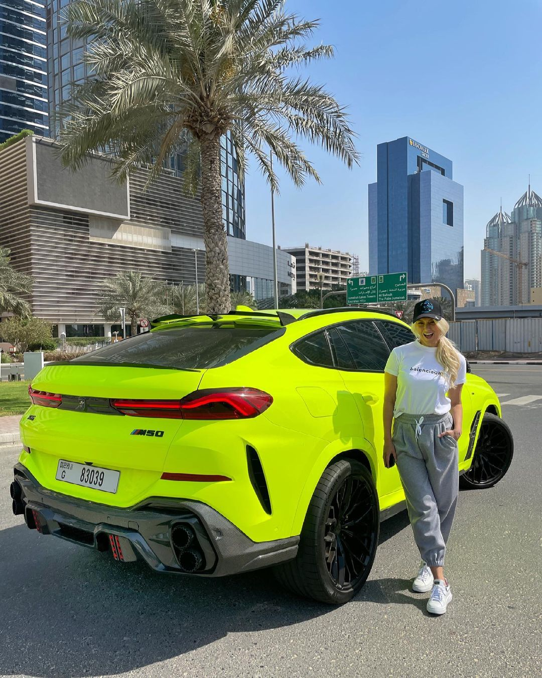 The coolest bmw makeover I've ever seen! Congrats to @sergi.galiano  c – Alexandra Mary – supercar blondie