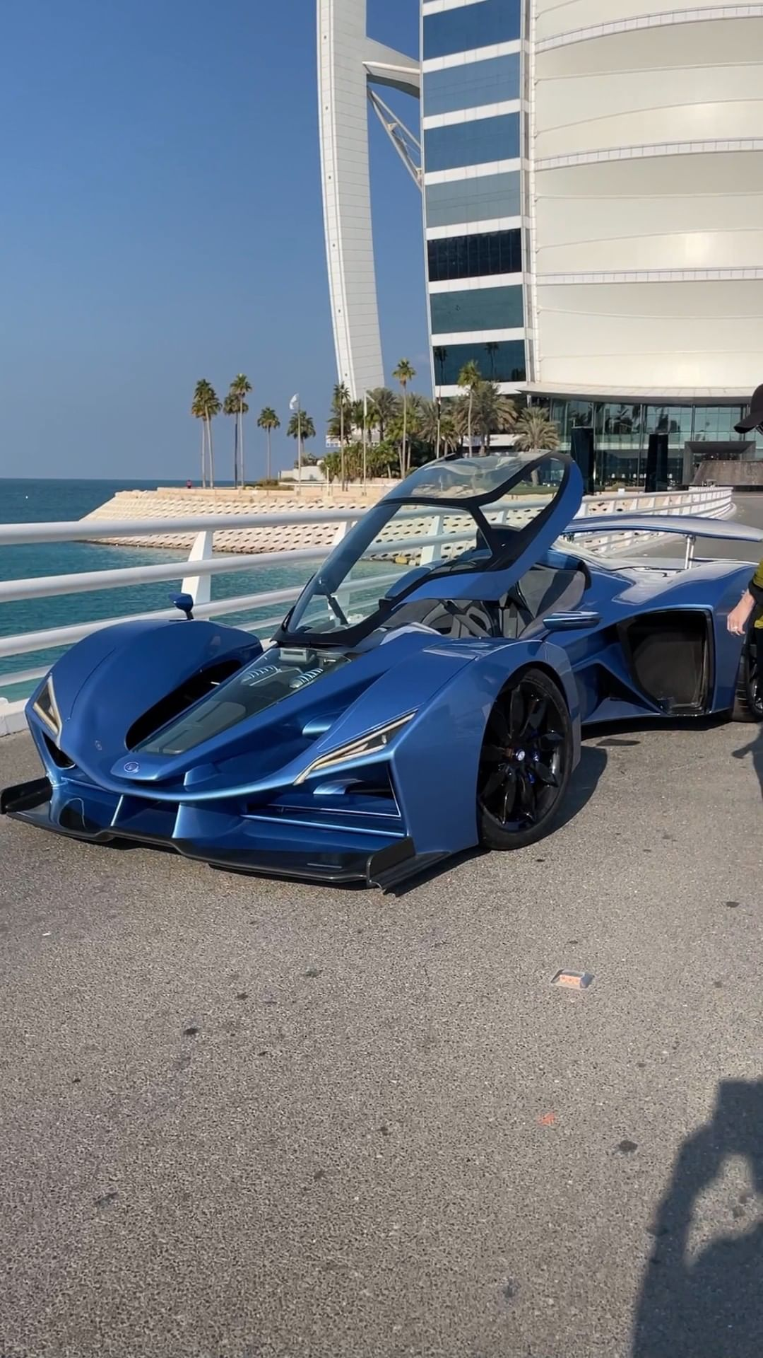 This car is a mix between an F1 and a jet fighter – this is the brand  – Alexandra Mary – supercar blondie