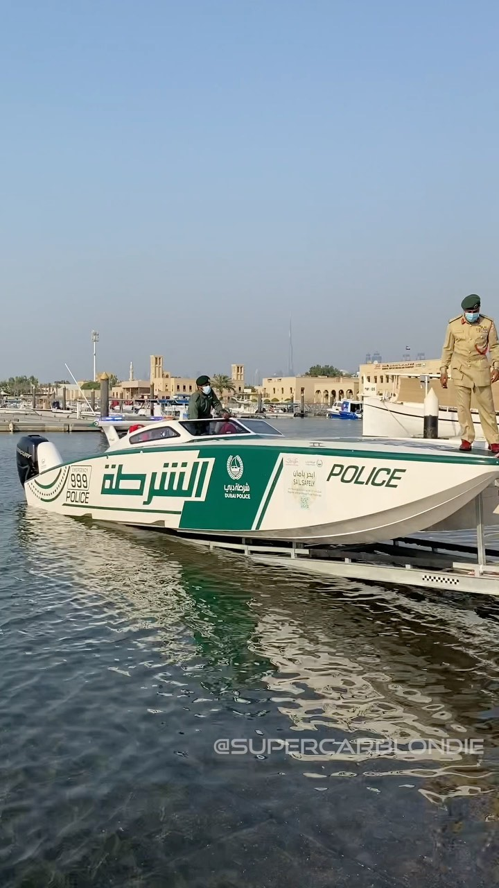 Dubai police taught me how to drive the world's fastest police boat  – – Alexandra Mary – supercar blondie 📰