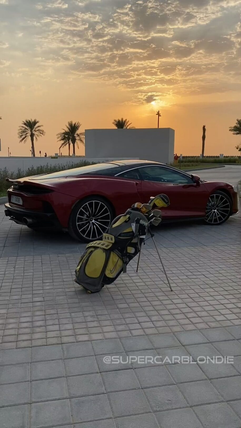 The most expensive golf buggy in the world  Check this out guys! Thank – Alexandra Mary – supercar blondie 📰