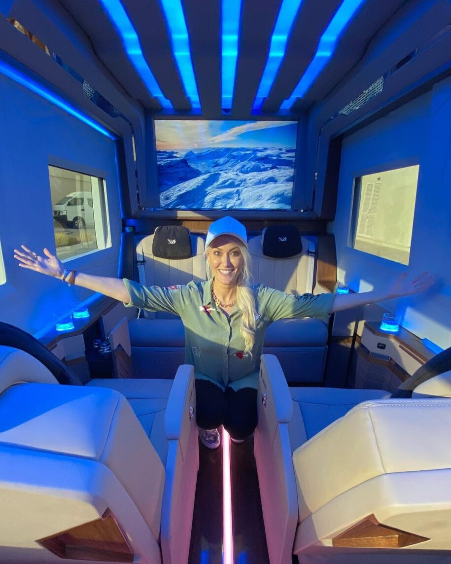 This is a cinema on Wheels! Go watch my new vid out now  Link in my st – Alexandra Mary – supercar blondie 📰