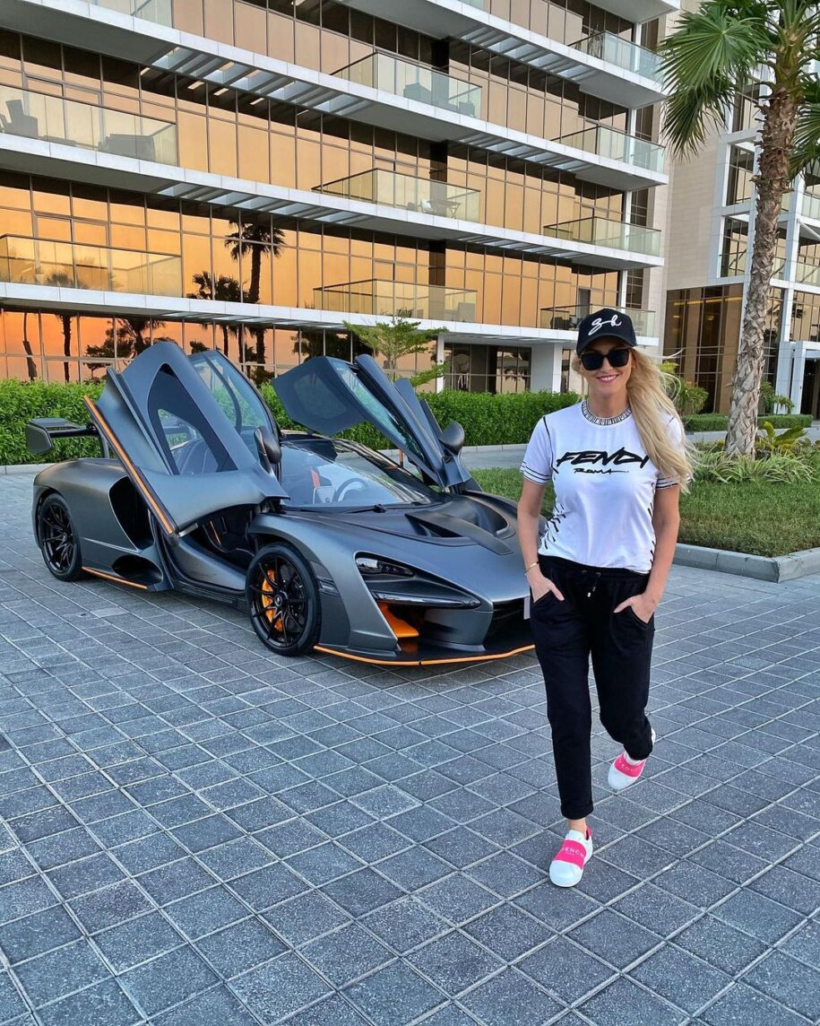 What's the one car you wish you could drive??  Vid out now xx #senna # – Alexandra Mary – supercar blondie 📰